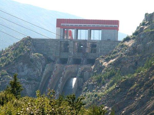 Колымская ГЭС.