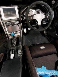 Сидение водителя в Kaizo GT-R