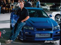 Kaizo GT-R и Пол Уокер