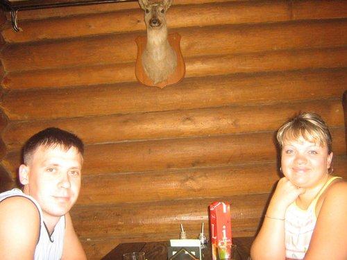 Мы в кафе «Охотник».