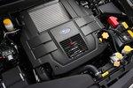 Турбированный 2,5-литровый двигатель Legacy развивает мощность до 285л.с., а его максимальный крутящий момент составляет35,7 кг-м. Прибавка мощности по сравнению с его предшественником 2.0GT — 25л.с., прибавка момента — 0,7кг-м.