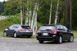 Subaru Legacy Touring Wagon 2.5GT и Honda Accord Tourer 24TL