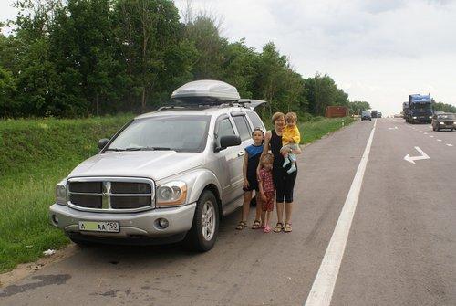 История одного путешествия на Кавказ на Dodge Durango.