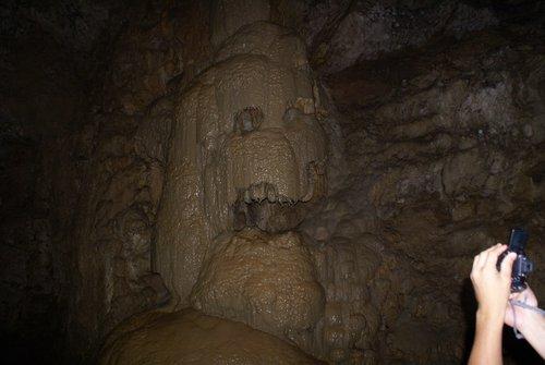 Фото в пещере без вспышки.
