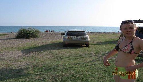 Пляж, Юлек и «Субарик» из Тюмени :).