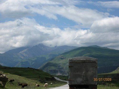 Путешествие в Абхазию и на Эльбрус на Subaru Impreza.