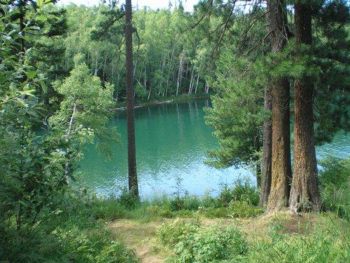 Озеро Изумрудное.