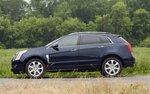 Cadillac SRX. Вид сбоку