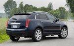 Cadillac SRX. Вид сзади