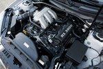 Современный шестицилиндровый V-образный двигатель Hyundai объемом 3,8л развивает 306л.с. и 360Нм крутящего момента на обычном бензине (92-ой).