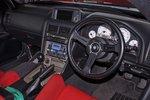 Кокпит в Nissan Skyline GT-R R34 Piers Dowding