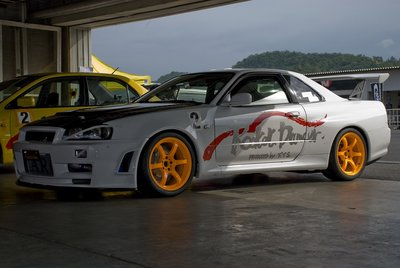 Fujimura Auto (они же Rocket Dancer) Nissan Skyline GT-R R34