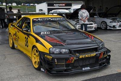 Чуда не произошло, и победа досталась Сейджиро Сава на R34 GT-R мастерской Auto Select