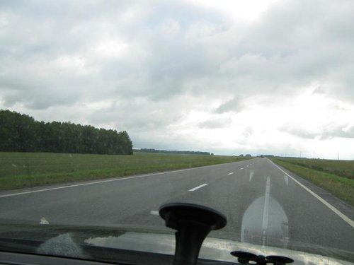 Дорога на Омск.