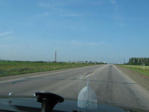 На подъезде к Челябинску.