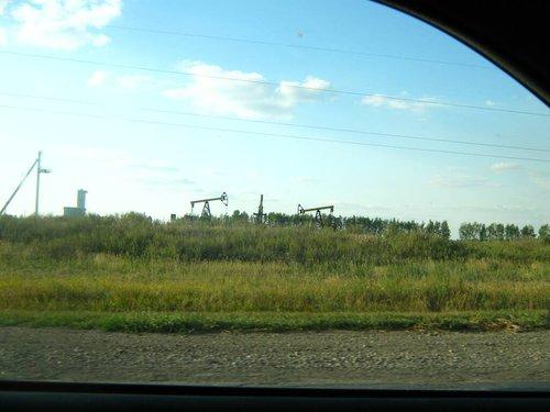 Татарские нефтекачки.