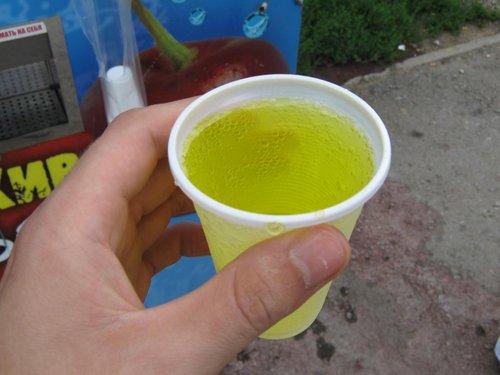Газвода с сиропом – 5 рублей.