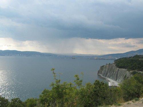 Вид на бухту Новороссийска.