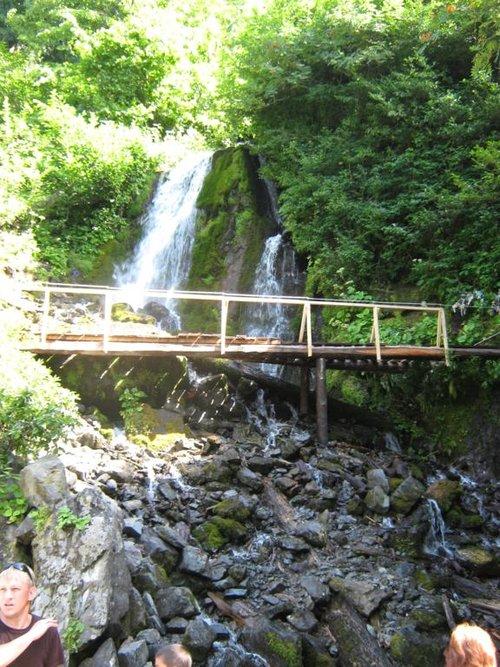 Какой-то водопад. Название не знаю.