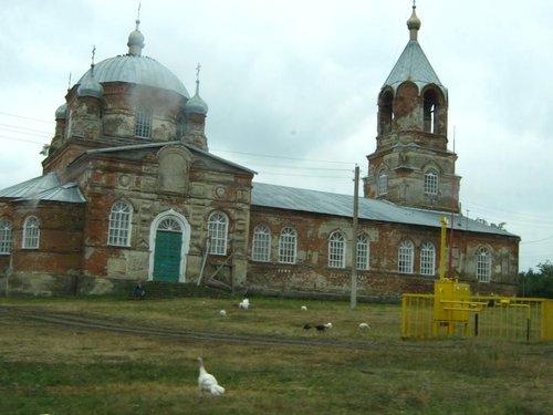 Церковь в Мамоновке.