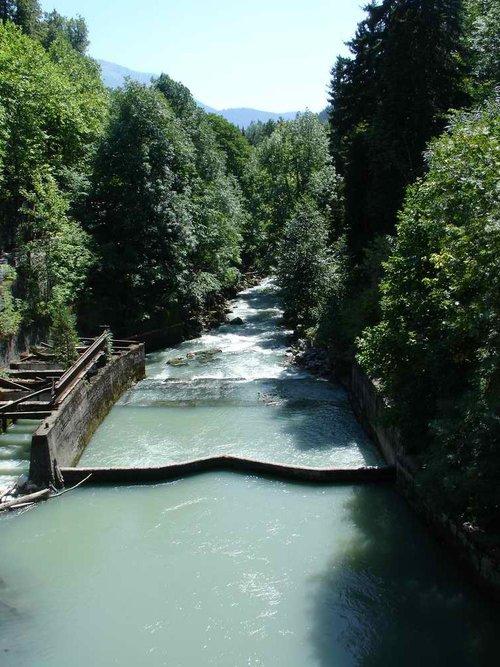 Река Юпшара.