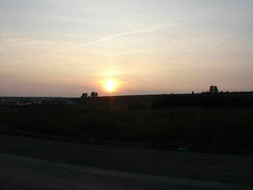 Закат над Башкирией.