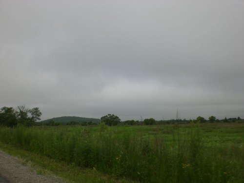 Пасмурная погода на дороге Хабаровск — Биробиджан.
