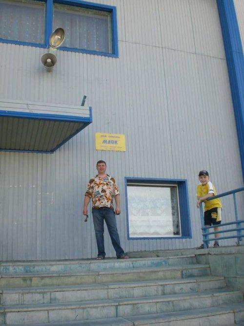 Вход в ДК «Маяк». Именно в нем мы собирались, когда ждали машину на службу.