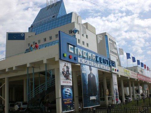 Кинотеатр «Синема центр» — одно из новых зданий в Якутске.
