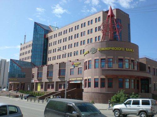 Гостиница «Полярная звезда», принадлежащая компании «АлРоСа».
