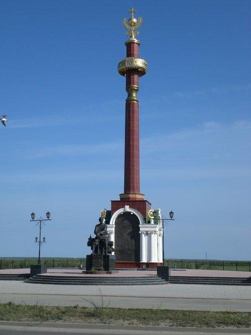 Памятник Петру Бекетову.