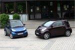 Разница в цене: Smart можно купить по цене от 9990евро, а iQ стоит не меньше 12700евро.