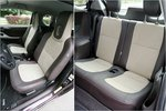 Преимущество Toyota: сиденья в iQ удобнее, кроме того, их здесь четыре.