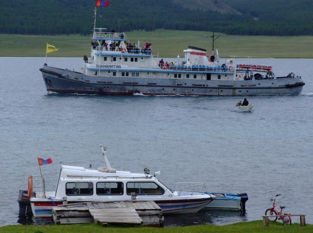 Сухбаaтар – самое большое судно Монголии.