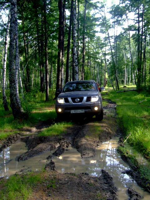 Дорога к русскому кемпингу – озеро Арей.