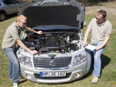 Четырехцилиндровый двигатель с его 166«лошадьми» располагает большей мощностью, нежели первый V6 на Grand Vitara, который был сенсацией десять лет назад.