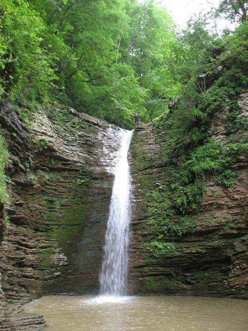 Водопад Шнурочек.