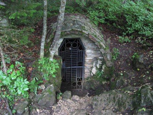 Вход в пещеру Нежная.