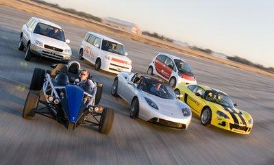 Тест различных электромобилей