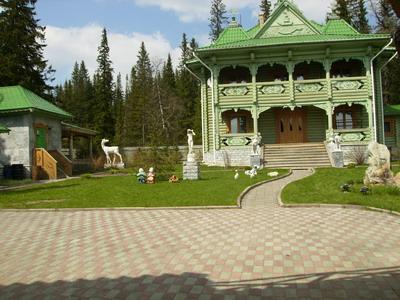 Усадьба, «Китова пристань», оз. Зюраткуль.