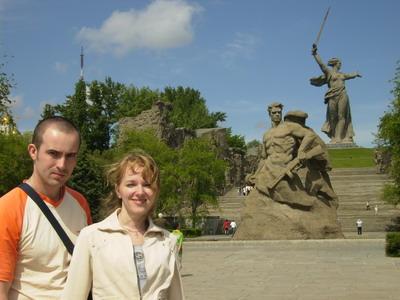 Мамаев курган, Волгоград.
