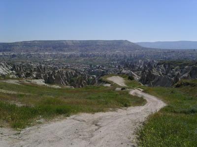 Вид на долину, Каппадокия.