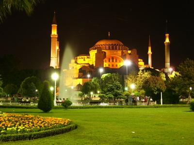 Айя-Софья, Стамбул.