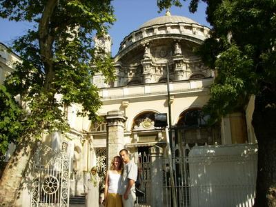 Мечеть Ортакёй, Стамбул.