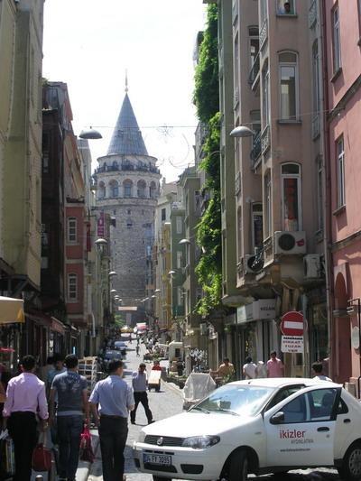 Район Галата, Стамбул.