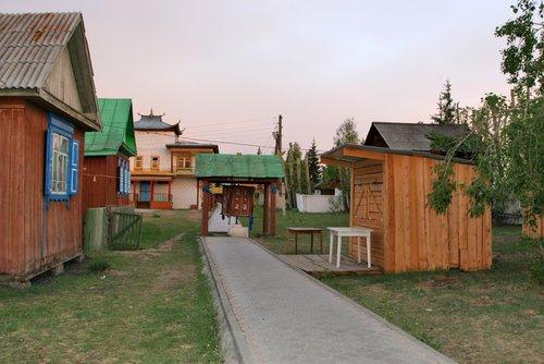 На территории Иволгинского Дацана.
