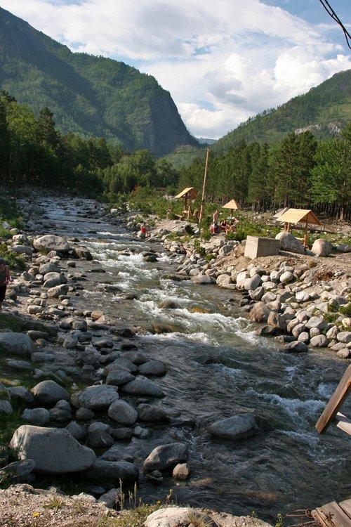 Река Кынгырга.