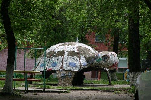 Детская площадка в Кемерово.