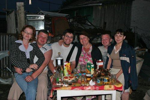 С родственниками в Макушино.