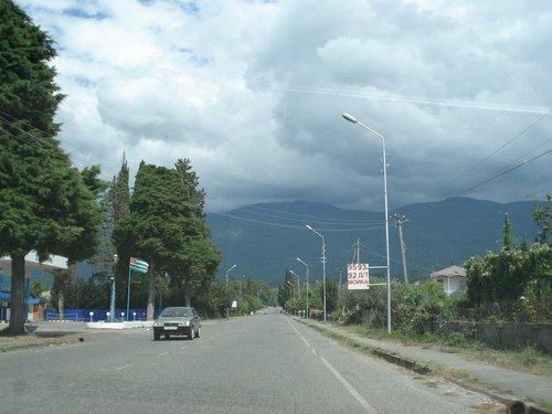 Дороги Абхазии.